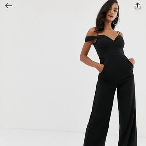 NWT Black ASOS Jumpsuit